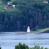 Lighthouse by Seal Island bridge. Pointillism courtesy of excessive digital zoom.