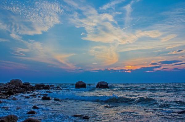 Dramatic Sunset at Little Island