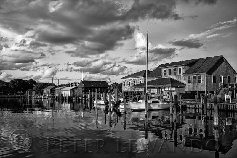 Kinnakeet Harbor BW