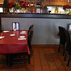 A view of the dinning area at Capellini's Restaurant's in Tewksbury on Wednesday afternoon. SUN/JOHN LOVE