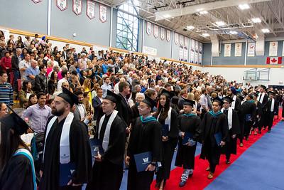Capilano University Convocation 2019. Photo by Scott Robarts