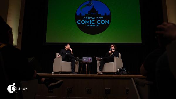 Dan Fogler   Capital City Comic Con   Victoria BC