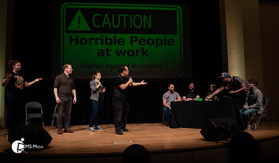 The Fictionals:  Improv Against Humanity | Capital City Comic Con | Victoria BC