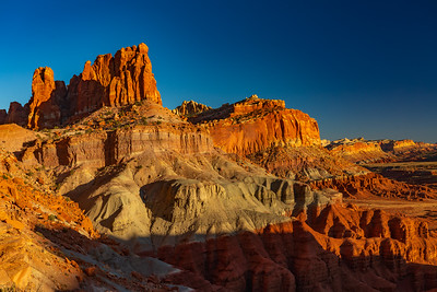 The Multi-Colored Cliffs of Capital Reef