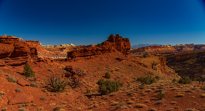 Multicolored Sandstone of Capital Reef National Park