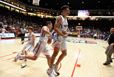 Class 5A boy's semifinal New Mexico State High School Basketball Tournament game between Capital High and Los Lunas High played Thursday, March 9, 2017 at WisePies Arena/The Pit, Albuquerque Read the full story: http://sfnm.co/2lKGf32