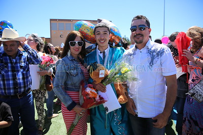 Capital High School graduation 05/24/2016. Tsering Choney /For The New Mexican