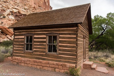 A restoration of Fruita Grade School, a one-room schoolhouse.