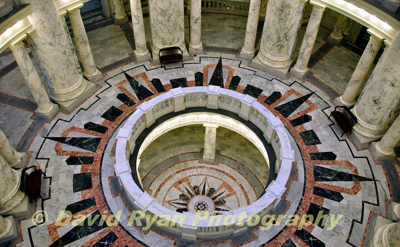 USA, Idaho, Boise, Capitol Rotunda