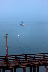 Fishing Boat off Capitola Wharf