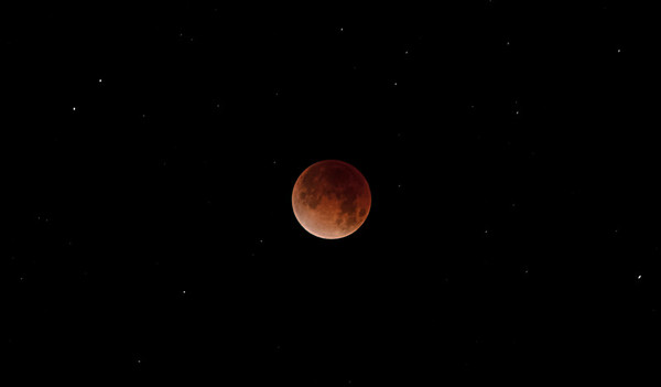 Super Blood Moon Eclipse, Jan 31, 2018, 5 am