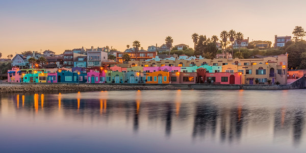 Capitola Venetian in the evening