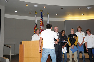 6/15/2009 - Mission Viejo City Council Recognition Ceremony