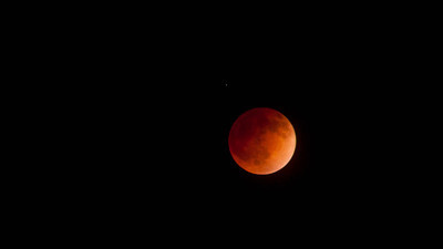 Lunar Eclipse, Susanville California, April 2014