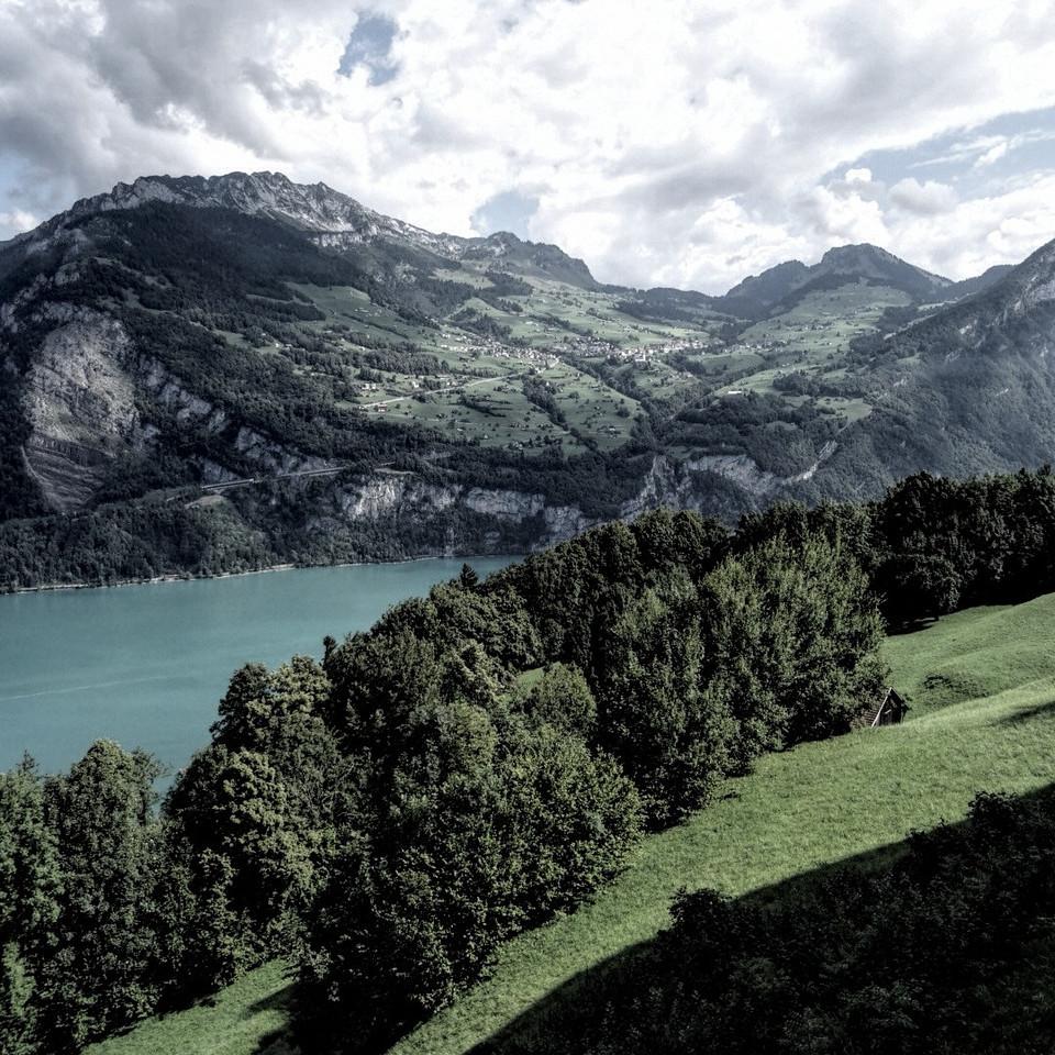 Lac de Walensee @ Filzbach (10.08.2013)