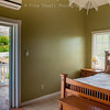 Master Bedroom with private Balcony with view of Mt. Nevis