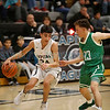 The second quarter of the Capital High School vs Albuquerque High School boys basketball game at Capital on Tuesday, February 12, 2019. Luis Sánchez Saturno/The New Mexican