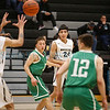 The first quarter of the Capital High School vs Albuquerque High School boys basketball game at Capital on Tuesday, February 12, 2019. Luis Sánchez Saturno/The New Mexican