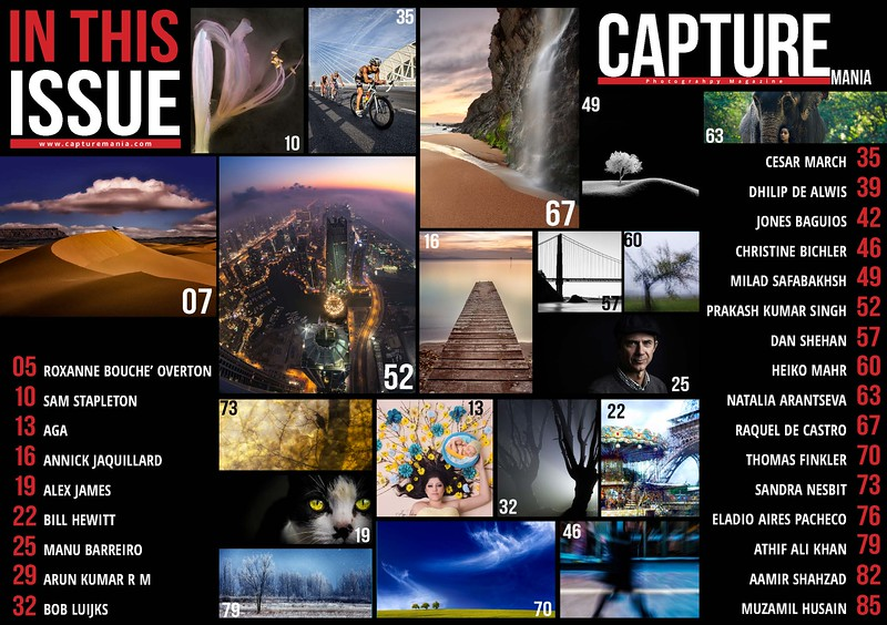Published in Capture Mania Magazine ~ April 2016 Issue