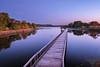 Twilight at Summit Lake