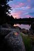 Sunrise on Loon Lake