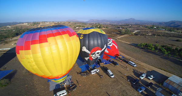 Balloons ready to go-HD 1080p