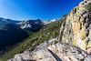 View from Bear Creek Overlook in Selway-Bitterroot Wilderness in Montana
