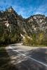 Spearfish Canyon road near Spearfish, SD