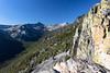 View from Bear Creek Overlook in the Selway-Bitterroot Wilderness in Montana