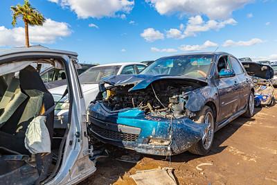 Close up Car wrecks, Junk, Car junk, Totalled cars, Junkyard