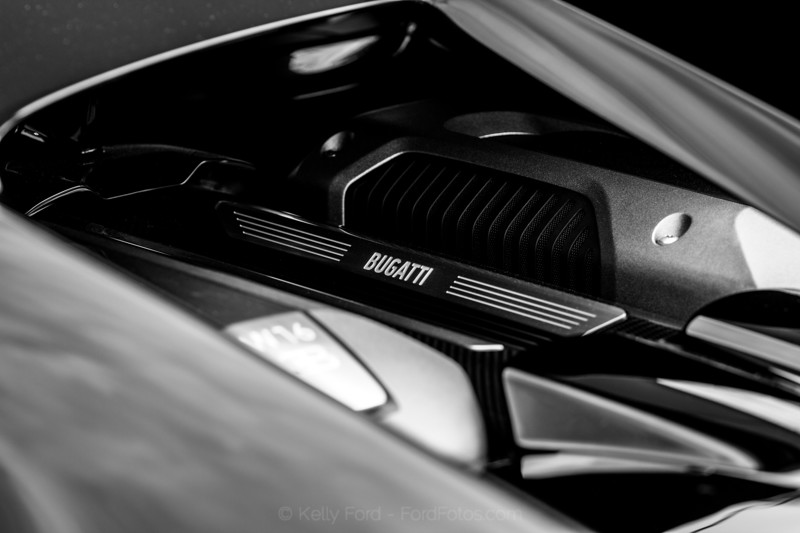 2018 Bugatti Chiron Engine
