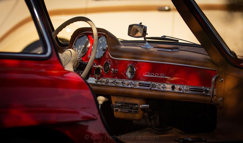 1955 Mercedes-Benz 300 SL Gullwing Interior