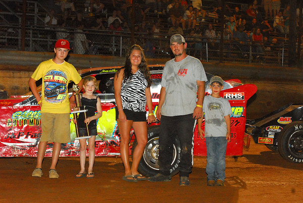 SABINE MOTOR SPEEDWAY 1ST,2ND, 3RD PLACE 7-2-11