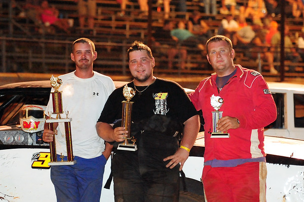 SABINE MOTOR SPEEDWAY 1ST,2ND,3RD PLACE 8-6-11