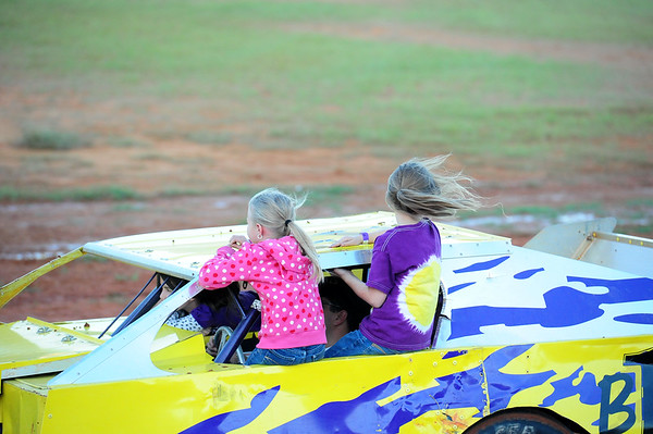 SABINE MOTOR SPEEDWAY PACKING THE TRACK AND FACES IN THE CROWD 10-1-11