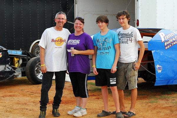 "SABINE MOTOR SPEEDWAY ""PACKING THE TRACK and FACES IN THE CROWD"" 7-2-11"