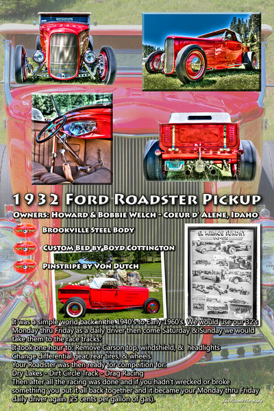 Car Show Display Poster