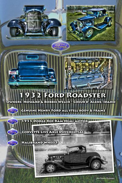 Car Show Display Poster