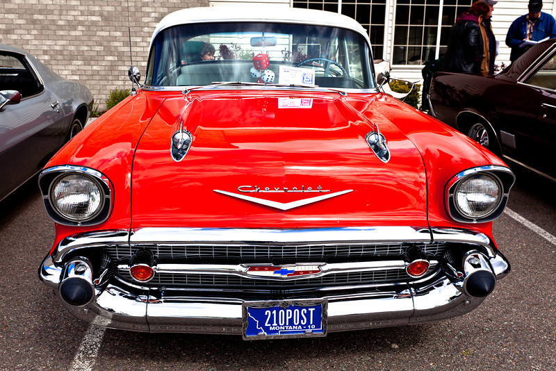 57 Chevy 210 Post