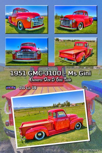 1951 GMC 3100 Ms Gini Collage