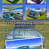 1956 Chevy 210 Collage