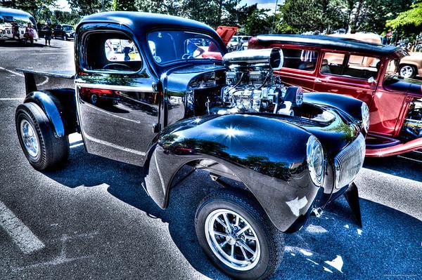 1941 Willys Bad N Black - Ray Simpson