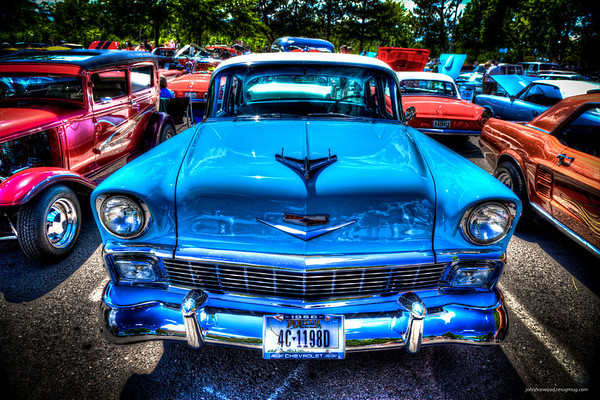 1956 - Chevy Bel Air (Light Blue)