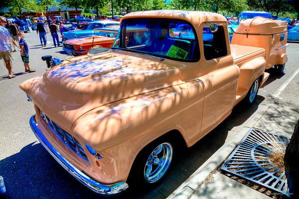 1957 Chevy P/U - Peach