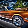 1967 Ford Mustang - Jerry Gates - Garden City River Rod Run 2012