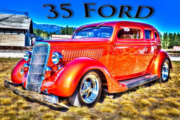 1935 Ford Sedan - Debbie Hawe