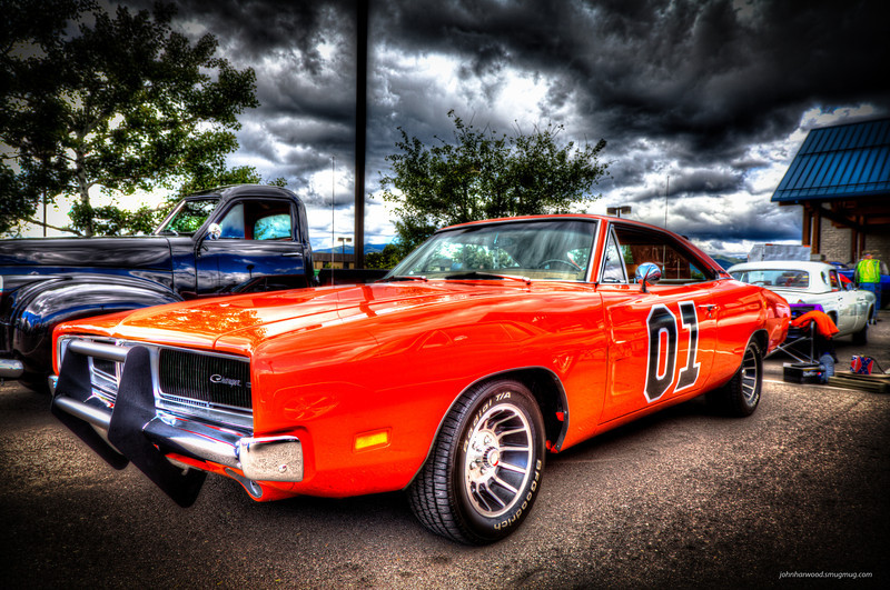 General Lee - Painterly HDR Processing with corners screened