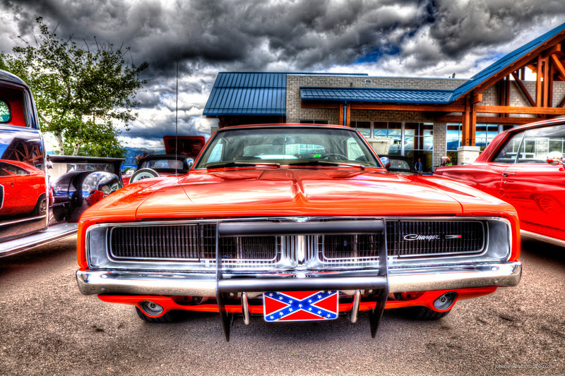 General Lee - Painterly HDR Processing