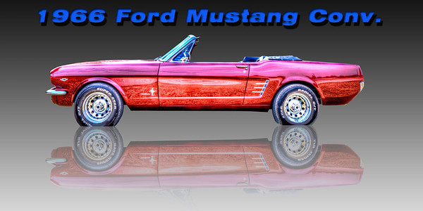 66 Ford Mustang Conv - Rocky Mountain Customs - John Suprock