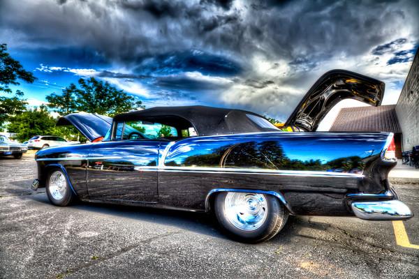 55 Chevy Convertible - Dan & Louise Cranston